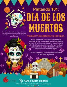 Painting 101: Día de Muertos