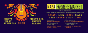 First Fiesta Saturdays at the Napa Farmers Market