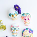 Sugar Skull decorating with New Tech High