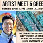 Meet Ivan Colin: Napa Latinx Artist and Semi-Pro S...