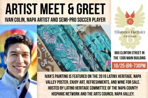 Meet Ivan Colin: Napa Latinx Artist and Semi-Pro Soccer Player