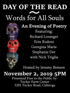 Day of the Read: Words for All Souls Poetry Reading