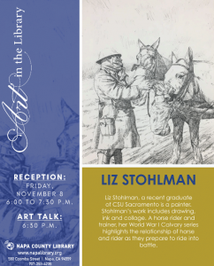 Art in the Library Featuring Liz Stohlman