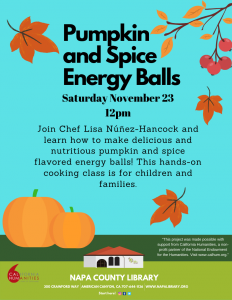Pumpkin and Spice Energy Balls