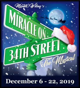"""Lucky Penny Presents """"Miracle on 34th St., the Musical"""""""