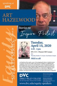 Equity Speaker Series: Art Hazelwood - Stories to Inspire Protest