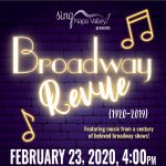 Sing Napa Valley Presents Broadway Review (1920-20...
