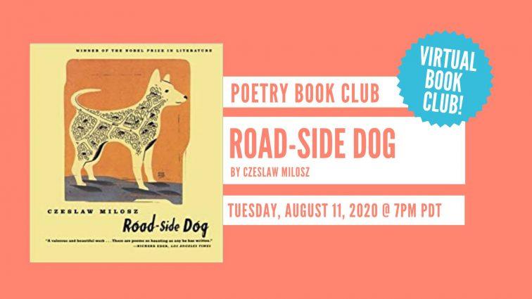VIRTUAL POETRY BOOK CLUB // Road-side Dog