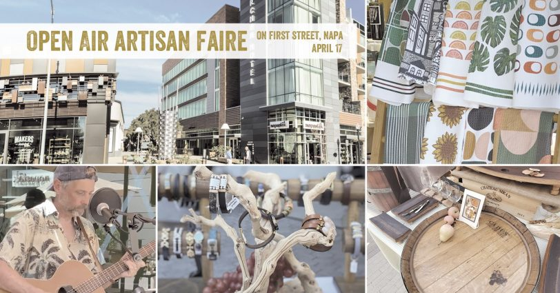 Open Air Artisan Faire   Makers Market - Napa