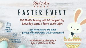 Easter Event at Bel Aire Plaza