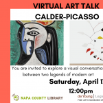 Napa County Library Presents Virtual Art Talk: Calder-Picasso
