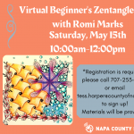 Napa County Library Virtual Beginner's Zentangle Class