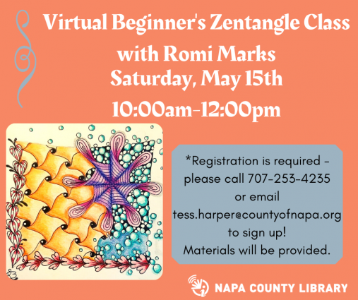Napa County Library Virtual Beginner's Zentangle C...