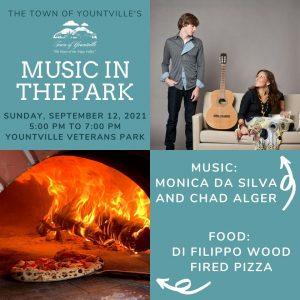 Music in the Park: September 12