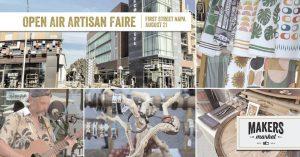 Open Air Artisan Faire   Makers Market