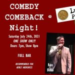 """""""Comedy Comeback Night at Lucky Penny!"""""""